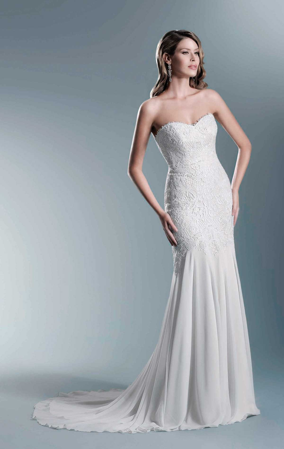 Agnes Bridal TO665T Wedding Dress | Blessings of Brighton