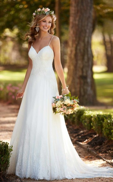 Stella york wedding dresses blessings of brighton 6282 april stella york 6643 stunning illusion lace fitted wedding dress junglespirit Image collections