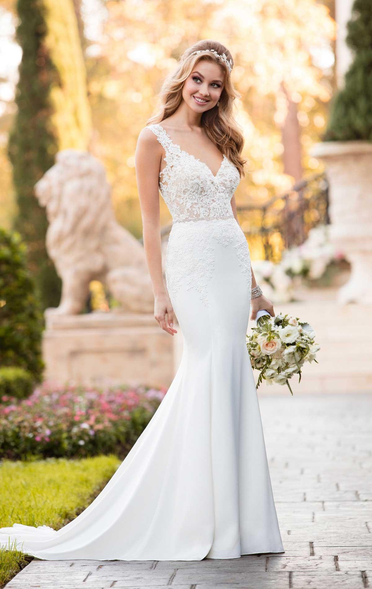Stella York 6476 Wedding Dress | Blessings of Brighton